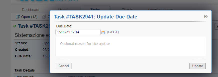 editor task due date old version